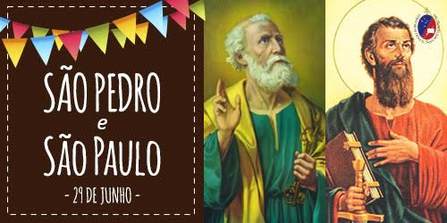 Resultado de imagem para São Pedro e São Paulo