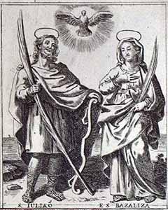 São Julião e Santa Basilissa