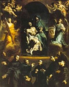 Os sete fundadores da Ordem dos Servitas