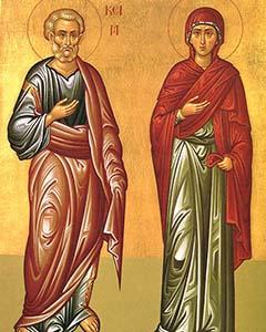 Santa Ana e São Joaquim