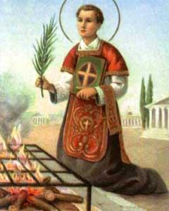 São Lourenço - Diácono e mártir