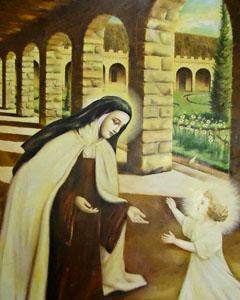 Santa Teresinha do Menino Jesus (de Lisieux)