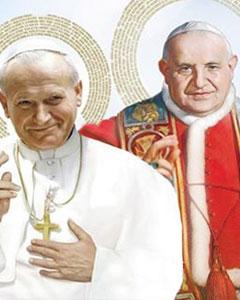 São João XXIII e São João Paulo II